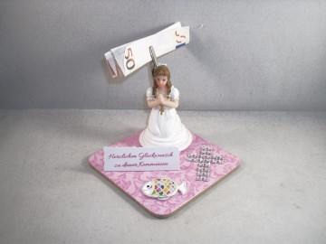 Geldgeschenk zur Kommunion, Konfirmation, Firmung, für ein Mädchen