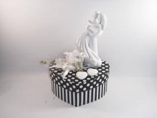 Geldgeschenk Hochzeit, Geschenkschachtel, edel, Skulptur, stilisiert - Handarbeit kaufen