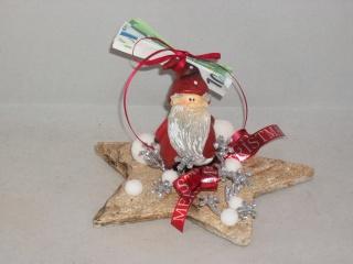 Geldgeschenk zu Weihnachten, Tischdeko, Stern, mit niedlichem Wichtelmännchen - Handarbeit kaufen
