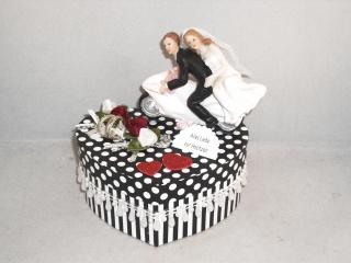 Geldgeschenk Hochzeit, Biker, Motorrad, Roller, Motorradfahrer, Biker-Hochzeit, Herzschachtel - Handarbeit kaufen