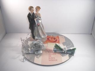 Geldgeschenk zur Silberhochzeit, 25, Ehejubiläum, 25. Hochzeitstag, Silberne Hochzeit