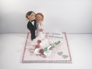 Geldgeschenk zur Hochzeit, Brautpaar, Comic, Humor, funny, lustig, humorvoll - Handarbeit kaufen