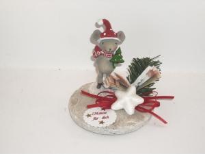 Geldgeschenk zu Weihnachten, Geld verschenken, Mäuse, Wintermaus, Schlittschuh      - Handarbeit kaufen