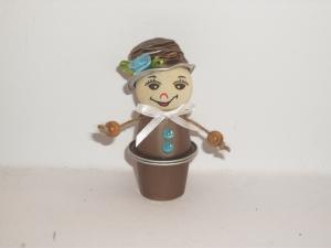 Blumenkind aus Nespresso-Kapseln, Kaffeekapseln, Tischdeko, Frühling, 0006 - Handarbeit kaufen