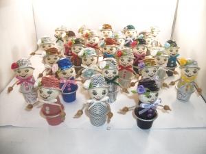 Blumenkinder aus Nespresso-Kapseln, 3er-Überraschungs-Set, Tischdeko,  Kaffeekapseln, Geburtstag, Muttertag