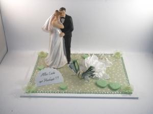 Hochzeit, Geldgeschenk, schwangere Braut, Baby, Schwangerschaft  - Handarbeit kaufen