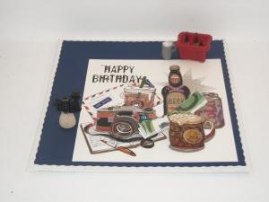 Geldgeschenk, Geburtstag, Mann, Männer,  Getränkemarkt, Grillfest, Gartenparty, Kamera, Digitalkamera, Bier, Cola - Handarbeit kaufen