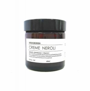 handgefertigte Gesichtscreme Neroli - hautberuhigend mit Neroliwasser, Jojobaöl, Avocadokernöl, und Sheabutter