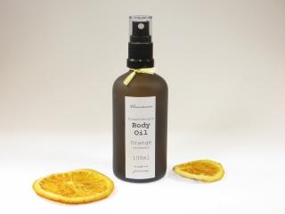 AROMATHERAPIE-KÖRPERÖL Orange-Zitrone mit Jojobaöl, Avocadokernöl, Aprikosenöl, Mandelöl