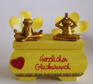 Geldgeschenk,Geburtstag,Yoga,Urlaub,Wellness,,♥Yoga Frosch♥