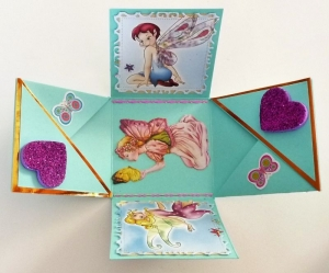 Überraschungsbox Geldgeschenk Mädchen Elfen personalisierbar - Handarbeit kaufen