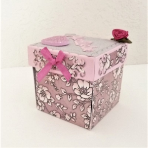 Überraschungsbox für Geld- oder Schmuckgeschenk zum Geburtstag, Mädchen Frauen - Handarbeit kaufen