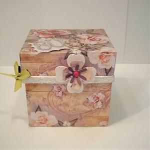 Überraschungsbox Geldgeschenke 80. Geburtstag Frau personalisierbar - Handarbeit kaufen