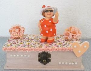 Geldgeschenk Urlaub Reise 50. Geburtstag Frau Reisegutschein Geschenkbox