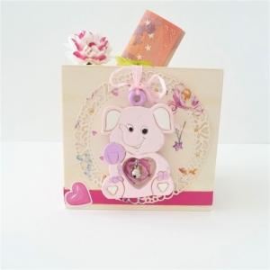 Spardose Geldgeschenk zur Geburt Taufe Geburtstag Mädchen rosa Deko-Anhänger - Handarbeit kaufen