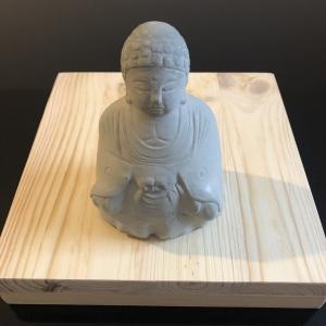 Buddha Figur - Feng Shui - Zen Garten - Handgefertigt - Beton - Geschenk