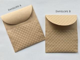Handgemachtes 10 Papiertüten G (11 x 12.5 cm),  Handgemachtes 10 Geschenkverpackung, Packpapiertüte braun ungefädelt