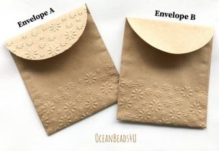 Handgemachtes 10 Papiertüten B  (11 x 12.5 cm), Handgemachtes 10 Geschenkverpackung, Packpapiertüte braun ungefädelt