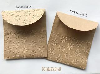 Handgemachtes 10 Papiertüten D  (11 x 12.5 cm), Handgemachtes 10 Geschenkverpackung, Packpapiertüte braun ungefädelt