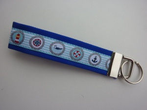 Schlüsselanhänger Maritim türkis