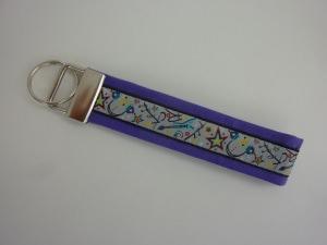 Schlüsselanhänger ROCK YOU in lila