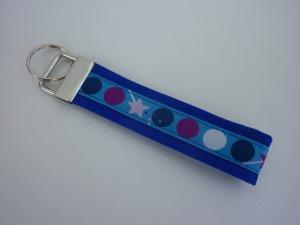 Schlüsselanhänger DOTS in blau