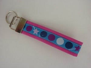 Schlüsselanhänger DOTS in pink