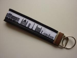 Schlüsselanhänger LONDON schwarz