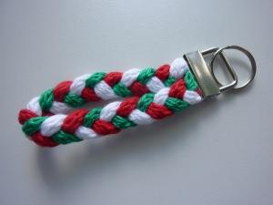 Schlüsselanhänger grün weiß rot