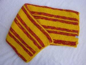 Babydecke 83 x 81 cm flauschig weich Kinderwagendecke Krabbeldecke Decke handgestrickt gelb rot orange pink