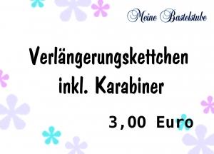 + Verlängerung inkl. Karabiner 3,00 €