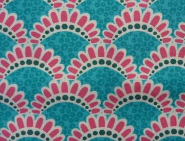 ✂ Patchworkstoff Meterware kleine Blumen in pink von Emma Jean Jansen  - Handarbeit kaufen