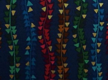 ✂ Patchworkstoff Meterware Makower Aurelia Triangle Stripe - Handarbeit kaufen