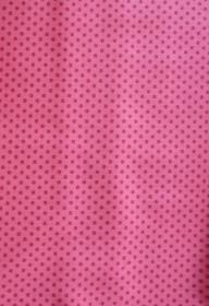 ✂ Patchworkstoff Meterware kleine pinkfarbene Punkte auf rosa Hintergrund - Handarbeit kaufen