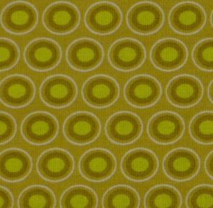 ✂ Patchworkstoff Meterware Oval Elements hell grün - Handarbeit kaufen