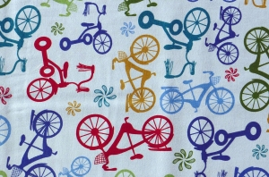 ✂ Patchworkstoff Meterware Anthology Bikes & Trikes