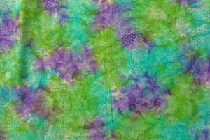 ✂ Patchworkstoff Meterware  Eyelike Fabrics Batik bunt  türkis,  lila, grün