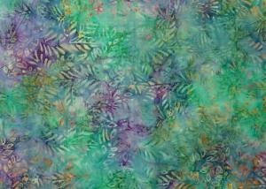 ✂ Patchworkstoff Meterware  Eyelike Fabrics Batik bunt türkis, lila orange - Handarbeit kaufen