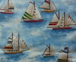 ✂ Patchworkstoff Meterware  Sailing - Handarbeit kaufen