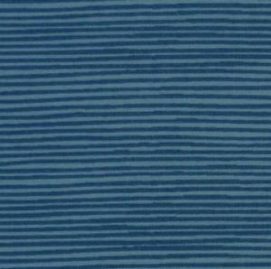 amerikanischer Patchworkstoff Meterware Quilters Basic Streifen mittelblau - Handarbeit kaufen