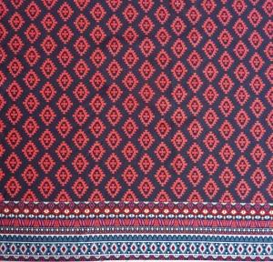 ✂ Jersey Viskose Ikatarina Midnight Rouge - Handarbeit kaufen