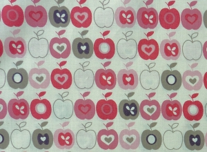✂ Patchworkstoff Meterware The Henley Studio Flo´s Garden Apples - Handarbeit kaufen