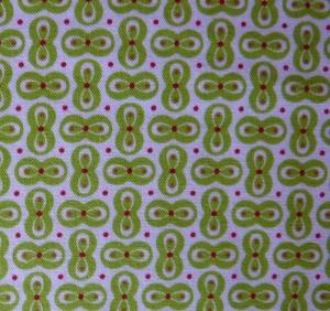 ✂ Patchworkstoff Meterware Tante Ema grüne Schleifchen - Handarbeit kaufen