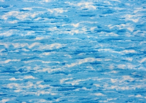 ✂ Patchworkstoff Meterware Natural Elements Himmel - Wasser
