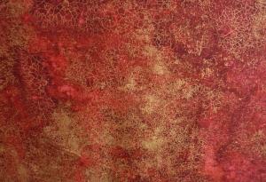 ✂ Patchworkstoff Meterware Weihnachtsstoffe Marblehead 433 rot marmoriert - Handarbeit kaufen