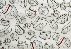 ✂ Patchworkstoff Meterware Loralie Happy Hats - Handarbeit kaufen