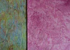 ✂ Stoffpaket schöner Batik Mix gemustert und uni - Handarbeit kaufen