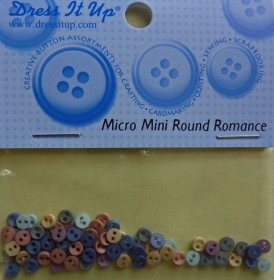 ✂ Dress It Up Micro Mini Round Romance - Handarbeit kaufen