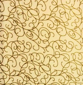 ✂ Patchworkstoff Meterware Weihnachtsstoffe goldene Kringel auf beigem Hintergrund - Handarbeit kaufen