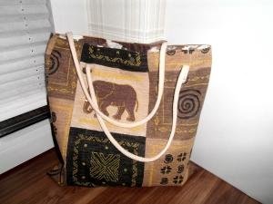 Einkaufsbeutel, Einkaufstasche,Markttasche Auf Safari